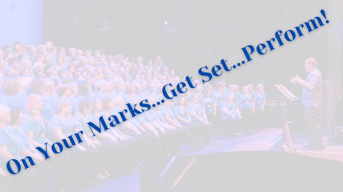 choir performing concert